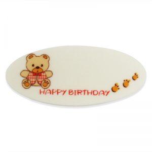 小熊HAPPY BIRTHDAY糖牌
