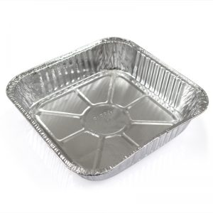 正方形鋁箔盆