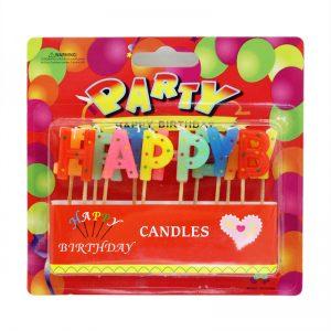 盒裝HAPPY BIRTHDAY臘燭