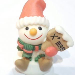 聖誕雪人糖