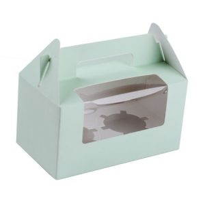 2 cup cake box